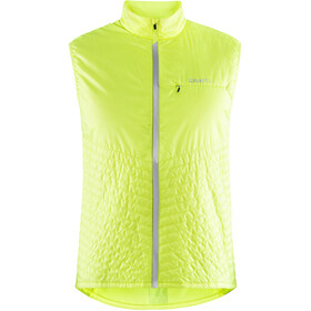 Craft Urban Run - Gilet running Homme - jaune